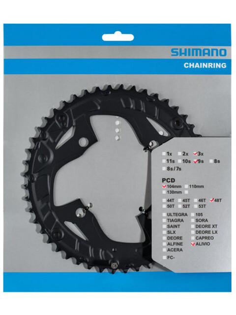 Shimano Alivio FC-T4010 Kettenblatt 9-fach schwarz
